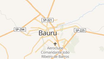 Mapa online de Bauru para viajantes