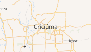 Mapa online de Criciúma para viajantes