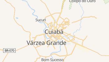 Mapa online de Cuiabá para viajantes