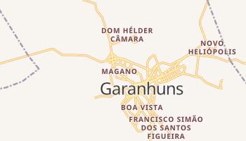 Mapa online de Garanhuns para viajantes