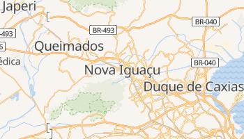 Mapa online de Nova Iguaçu para viajantes