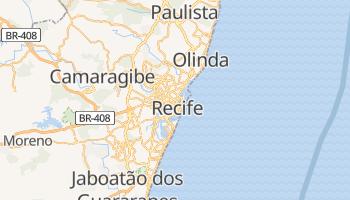 Mapa online de Recife para viajantes