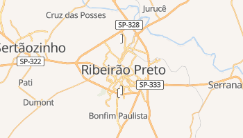 Mapa online de Ribeirão Preto para viajantes