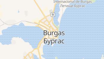 Mapa online de Burgas para viajantes