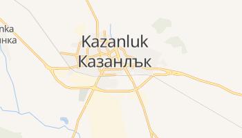 Mapa online de Kazanluk para viajantes