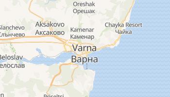 Mapa online de Varna para viajantes