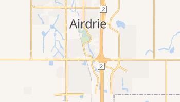 Mapa online de Airdrie para viajantes