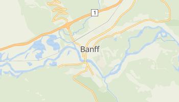 Mapa online de Banff para viajantes