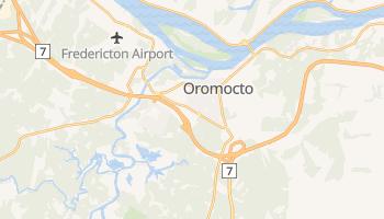 Mapa online de Oromocto para viajantes