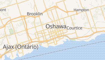 Mapa online de Oshawa para viajantes