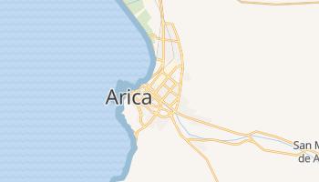Mapa online de Arica para viajantes