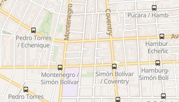 Mapa online de Ñuñoa para viajantes