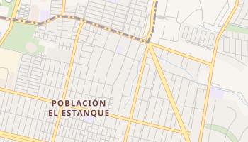 Mapa online de Peñalolén para viajantes