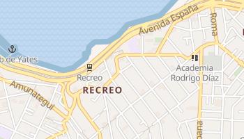 Mapa online de Recreo para viajantes