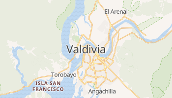 Mapa online de Valdivia para viajantes