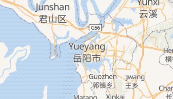 Mapa online de Yueyang para viajantes