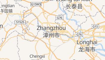 Mapa online de Zhangzhou para viajantes