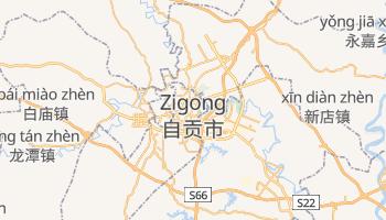 Mapa online de Zigong para viajantes