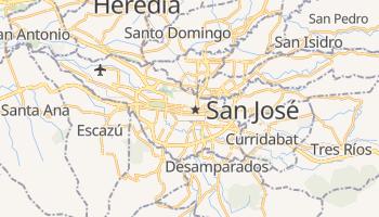 Mapa online de San José para viajantes