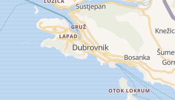Mapa online de Dubrovnik para viajantes