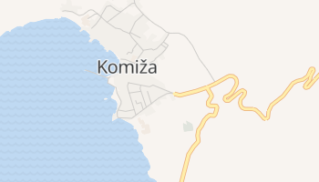 Mapa online de Komiža para viajantes