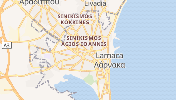 Mapa online de Larnaca para viajantes