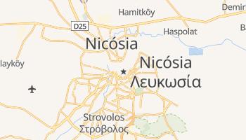 Mapa online de Nicósia para viajantes