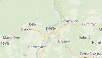 Mapa online de Děčín para viajantes