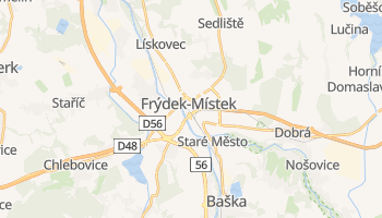 Mapa online de Frýdek-Místek para viajantes