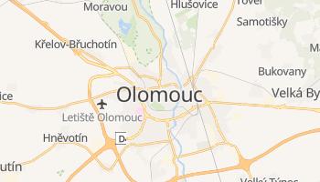 Mapa online de Olomouc para viajantes