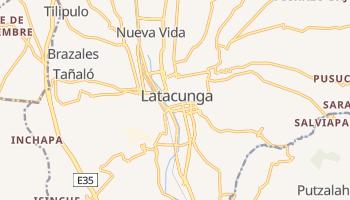 Mapa online de Latacunga para viajantes