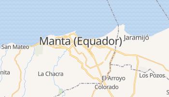 Mapa online de Manta para viajantes