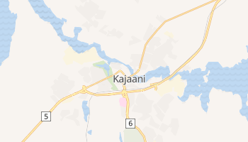 Mapa online de Kajaani para viajantes