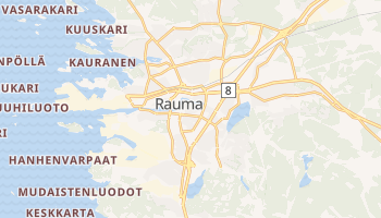 Mapa online de Rauma para viajantes