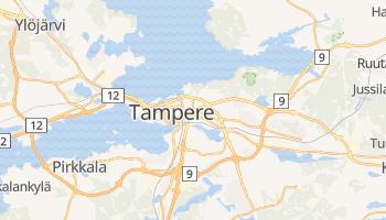 Mapa online de Tampere para viajantes