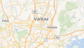 Mapa online de Vantaa para viajantes