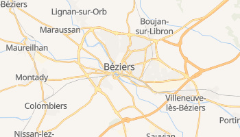 Mapa online de Béziers para viajantes