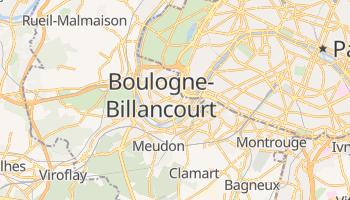 Mapa online de Boulogne-Billancourt para viajantes