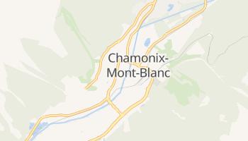 Mapa online de Chamonix-Mont-Blanc para viajantes