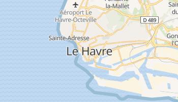 Mapa online de Le Havre para viajantes