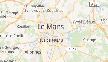 Mapa online de Le Mans para viajantes