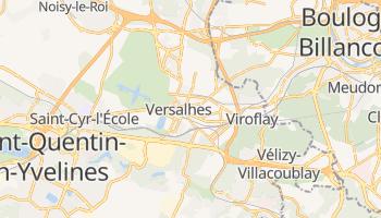 Mapa online de Versalhes para viajantes