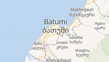 Mapa online de Batumi para viajantes