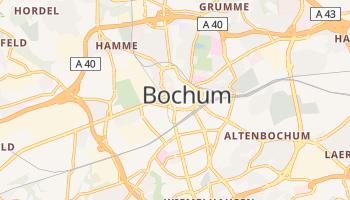 Mapa online de Bochum para viajantes
