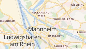 Mapa online de Mannheim para viajantes