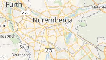 Mapa online de Nuremberga para viajantes