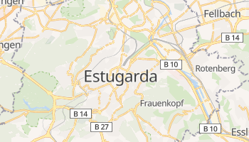 Mapa online de Estugarda para viajantes