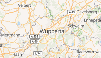 Mapa online de Wuppertal para viajantes