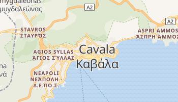 Mapa online de Cavala para viajantes