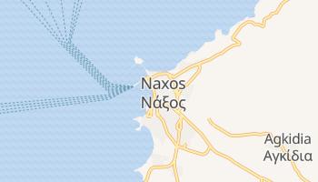 Mapa online de Naxos para viajantes